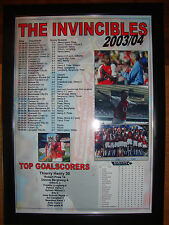Arsenal Invincibles 2003-04 - framed print