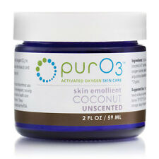 PurO3 Organic Ozonated Coconut Oil Unscented, 2oz, 59ml