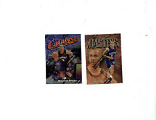 (2)1997-98 Topps Finest Stephon Marbury #19 & #121 with protective peel
