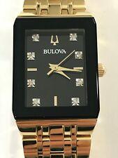 Ladies' Bulova Modern Diamond Accent Gold-Tone Watch Model: 97P135