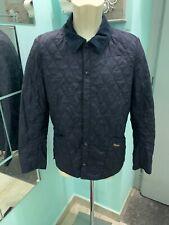 barbour Trapuntato Giubbotto Uomo Tg 48 Blu Jacket