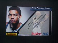 Timberwolves Karl Anthony Towns Signed 4x6 Photo Procamps Panini Autographed