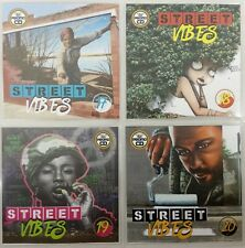 Street Vibes 4CD Jumbo Pack 5 (Vol 17-20) - Dancehall, Bashment, Urban Reggae