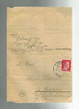 1944 Germany Danzig Stutthof Concentration Camp KZ Letter Cover Stanis Zebrowski