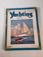 Vintage August 1928 Yachting magazine .Boating advertisements