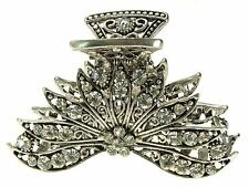 Vintage Filigree Claw Clamp Clip