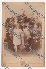 CDV Kaiser Wilhelm II Kronprinzen Uniform St.Petersburg Atelier orig. vor 1914