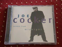 "CD JOE COCKER ""ACROSS FROM MIDNIGHT"" 12 TITRES / PARLOPHONE EMI 1997"