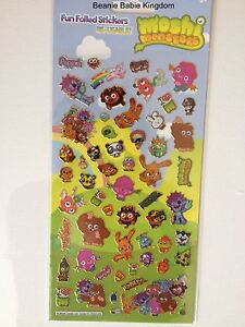 Moshi Monsters Reusable Stickers - Fun Foiled Stickers