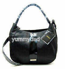MIMCO LEATHER CRESCENT HOBO BAG IN BLACK BNWT RRP$450