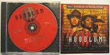 HOODLUM - SOUNDTRACK - O.S.T. - CD - MOBB DEEP L.V. WU-TANG CLAN ERYKAH BADU