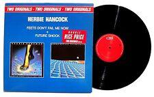 HERBIE HANCOCK: Feets Dont Fail Me Now / Future Shock LP CBS US 1989 2XLP NM+