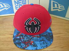 Spider-Man Marvel Comics New Era Hat Fitted 59Fifty Size 7 1/2 NWT 0111