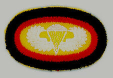 """CIRCA LATE 1950""""s-1960's, WEST GERMANY, PARA WING, PARA OVAL, PARACHUTIST, ABN"""
