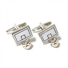 CUFFLINKS Basketball Net and Ball Player Team Party Christmas Present GIFT Box