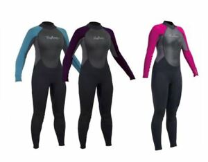 3MM WOMENS FULL WETSUIT LADIES NEPTUNE SURF SWIMMING LONG WET SUIT KAYAK SUP