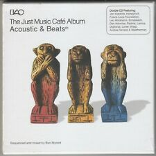The Just Music Cafe Album: Acoustic & Beats BRAND NEW CD Free 1st Class UK P&P