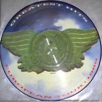 NM/NM! AEROSMITH GREATEST HITS VINYL LP PICTURE PIC DISC (EUROPEAN TOUR 1989)
