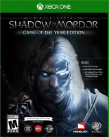 Middle-earth: Shadow of Mordor Game of the Year Edition Microsoft Xbox One, XB1