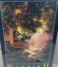 Maxfield Parrish Old Glen Mill 1950 Fink 2000 Piece Jigsaw Puzzle Factory Sealed