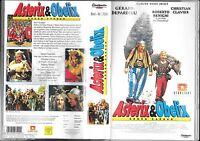 ASTERIX & OBELIX - GEGEN CAESAR - REALFILM - DEPARDIEU BENIGNI - VHS