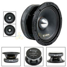 "2 Orion Audio XPM854MBF 2000 Watts 8"" High Efficiency Midbass Speakers 4 Ohm"
