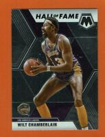 2019-20 Panini Mosaic Wilt Chamberlain Hall of Fame #285 Los Angeles Lakers