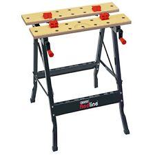 Organizzazione degli utensili tavoli da lavoro blu per il bricolage e fai da te