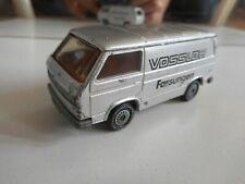"""Siku VW Volkswagen Transporter T3 """"Vossloh Fassungen"""" in Grey"""