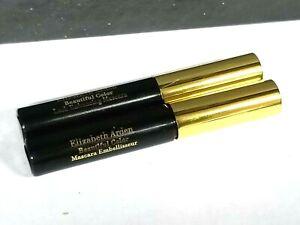 LOT OF 2 Elizabeth Arden Beautiful Color Lash Enhancing Mascara 0.1 oz 3 ml NWOB