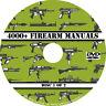 4000+ Firearm Manuals DVD Rifle Carbine Pistol Shotgun Revolver Gun pdf CD Disc