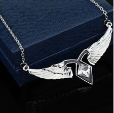 MORTAL INSTRUMENTS SHADOWHUNTER FRIENDSHIP RUNE ANGEL WINGS PENDANT NECKLACE