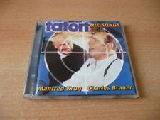 CD Manfred Krug & Charles Brauer - Tatort - Die Songs - 2000 - 14 Songs
