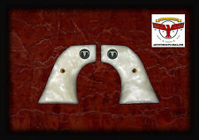 RUGER PEARL GRIPS ~ NEW VAQUERO, MONTADO , 50TH ANNIVERSARY + 3D STEER SKULL