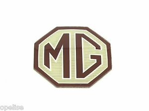 Genuine New 54MM MG LOGO INSERT BADGE Emblem TF ZR ZS ZT For Boot or Bonnet