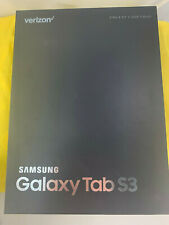 Samsung Galaxy Tab S3 9.7 SM-T827V 32GB Wi-Fi 4G Verizon Unlocked - Black - New