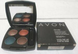 AVON! True Color Eyeshadow Quad. CARIBBEAN SUNSET (Q911). Full Sz. Women/Jrs.NEW