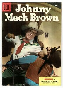 Dell - Johnny Mack Brown - No 645  1955  SCARCE!! HIGH GRADE!