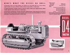 1940 Caterpillar Tractor - The Caterpillar Condensed Catalog 1940 - scanned