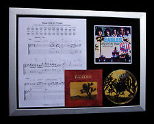EAGLES New Kid In Town GALLERY QUALITY CD MUSIC FRAMED DISPLAY+FAST GLOBAL SHIP