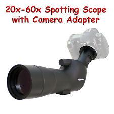 20-60x 60a 2000mm 6000mm Spotting Telescope for Nikon DF D5300 D610 Digiscoping