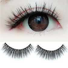 Makeup Black 100% Real Mink Soft Long Natural Thick Eye Lashes False Eyelashes