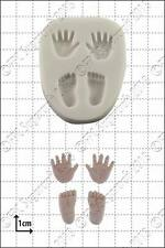 Silicone mould Tiny Hands and Feet | Food Use FPC Sugarcraft FREE UK shipping!