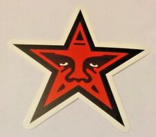 Pegatina/sticker/autocollant/ Adesivo/ Aufkleber : OBEY / DisOBEY/ Star/ Red