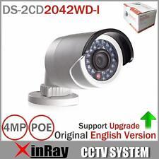 Hikvision DS-2CD2042WD-I Original English Full HD 4MP IR IP PoE CCTV Camera 4mm