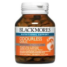 Blackmores Odourless Garlic Tablets 200 Ensuring Nutritional Benefit