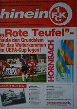 Programm UEFA Cup 1995/96 FC Kaiserslautern - Real Betis Sevilla