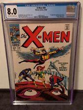 X-Men #49 CGC 8.0 (OW/W) First Appearance Lorna Dane as Polaris, Origin of Beast