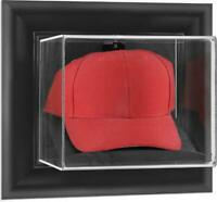Black Framed Wall Mounted Cap Display Case - Fanatics