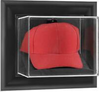 Black Framed Wall Mounted Cap Display Case - Fanatics